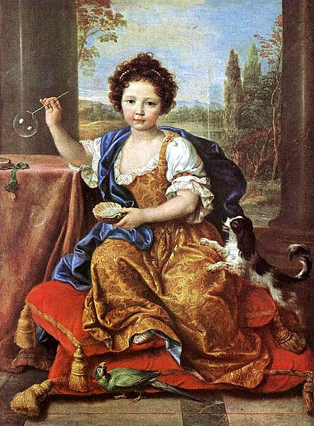 aristocratic girl by Mignard 1